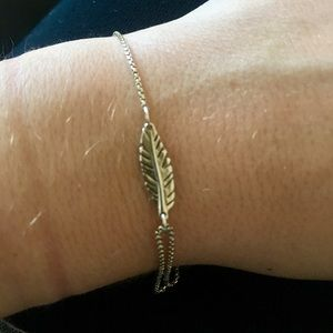 Jewelry - Alex and Ani Feather Pull Chain